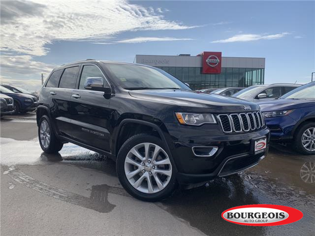 2017 Jeep Grand Cherokee Limited (Stk: 20MR44A) in Midland - Image 1 of 20