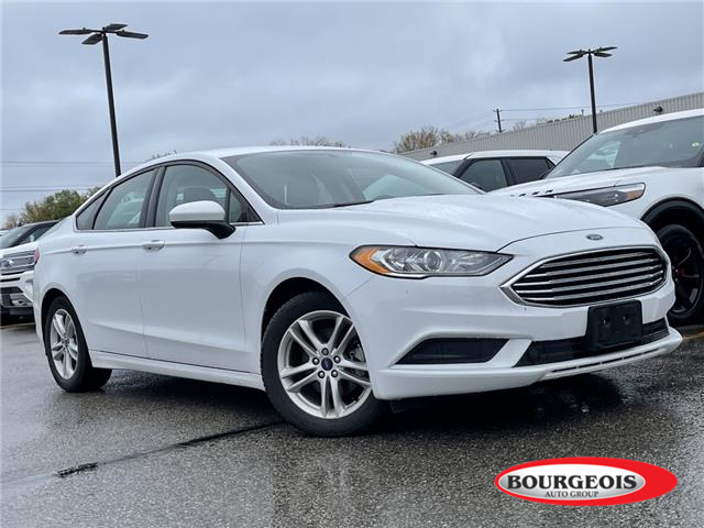 2018 Ford Fusion SE (Stk: 21T772A) in Midland - Image 1 of 10