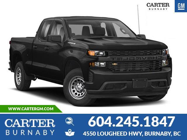 New 2020 Chevrolet Silverado 1500 Work Truck  - Burnaby - Carter GM Burnaby