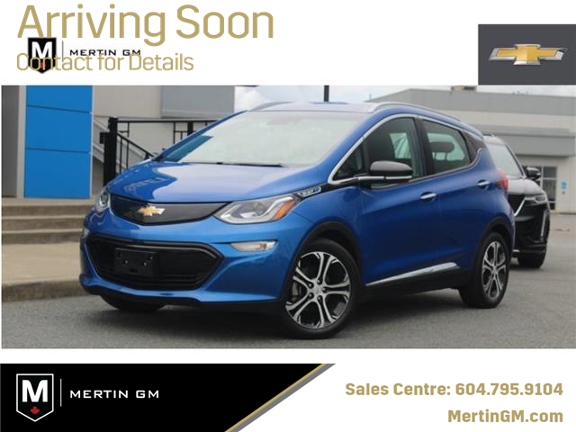 2019 Chevrolet Bolt EV Premier (Stk: 91-1018) in Chilliwack - Image 1 of 11