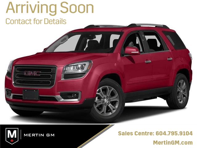 2016 GMC Acadia SLT2 (Stk: M20-1021P) in Chilliwack - Image 1 of 9