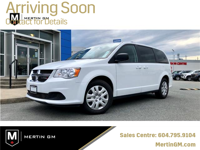 2018 Dodge Grand Caravan CVP/SXT (Stk: M19-2510P) in Chilliwack - Image 1 of 14