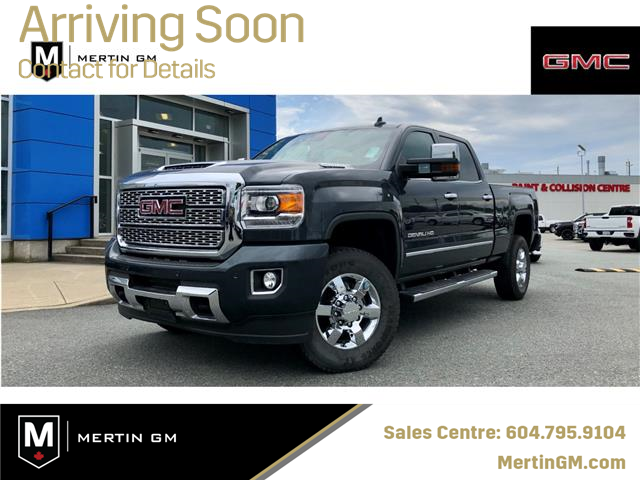 2018 GMC Sierra 3500HD Denali (Stk: M20-0941P) in Chilliwack - Image 1 of 10