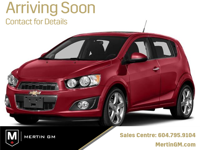 2016 Chevrolet Sonic LT Auto (Stk: M20-1228P) in Chilliwack - Image 1 of 10