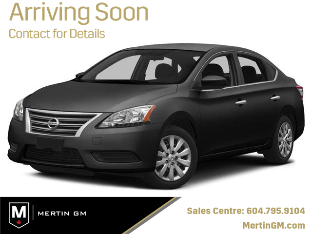 2014 Nissan Sentra 1.8 S (Stk: 208-1169A) in Chilliwack - Image 1 of 10