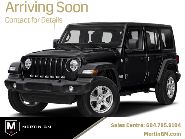 2020 Jeep Wrangler Unlimited Sahara (Stk: M20-1204W) in Chilliwack - Image 1 of 9