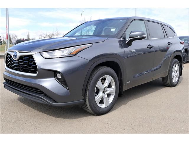 2020 Toyota Highlander Hybrid LE (Stk: HHL132) in Lloydminster - Image 1 of 21