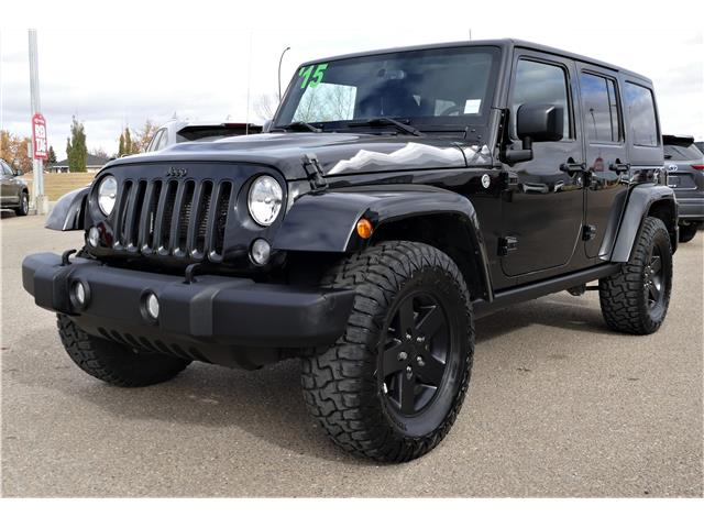 2015 Jeep Wrangler Unlimited Sahara (Stk: RAL170B) in Lloydminster - Image 1 of 20