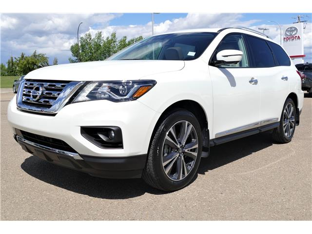 2020 Nissan Pathfinder Platinum (Stk: HIL129A) in Lloydminster - Image 1 of 22