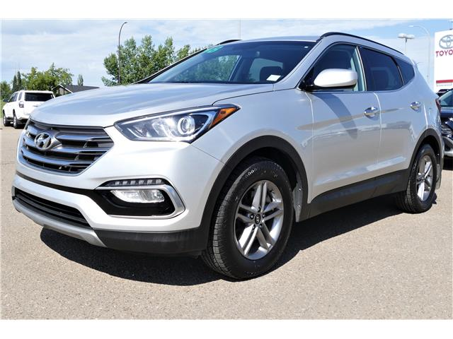 2018 Hyundai Santa Fe Sport 2.4 Base (Stk: RAL147A) in Lloydminster - Image 1 of 18