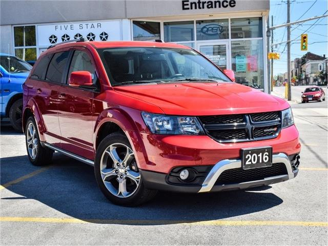 2016 Dodge Journey Crossroad (Stk: U1009) in Lindsay - Image 1 of 28