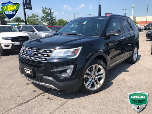 2016 Ford Explorer Limited (Stk: 1HL292) in Hamilton - Image 1 of 26