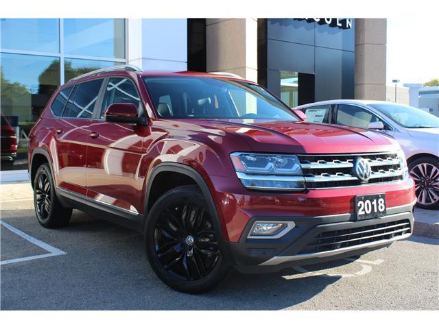 2018 Volkswagen Atlas 3.6 FSI Highline (Stk: 00H1093) in Hamilton - Image 1 of 24