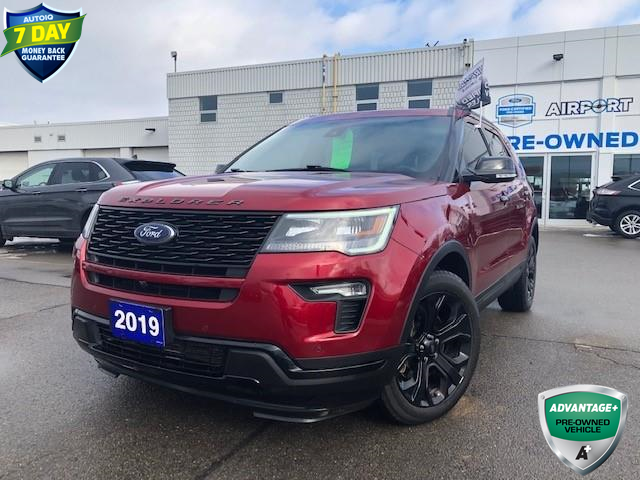 2019 Ford Explorer Sport (Stk: 00H1207X) in Hamilton - Image 1 of 25