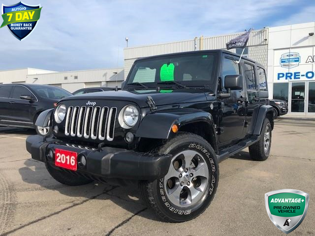 2016 Jeep Wrangler Unlimited Sahara (Stk: 00H1201) in Hamilton - Image 1 of 23