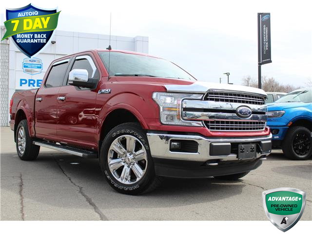 2019 Ford F-150 Lariat (Stk: A210163X) in Hamilton - Image 1 of 28