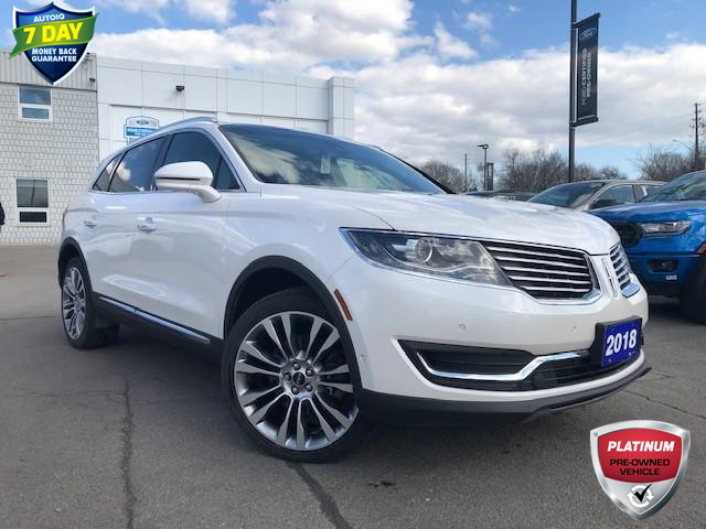 2018 Lincoln MKX Reserve (Stk: 00H1249) in Hamilton - Image 1 of 25