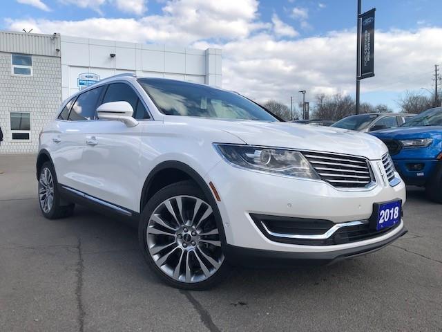 2018 Lincoln MKX Reserve White