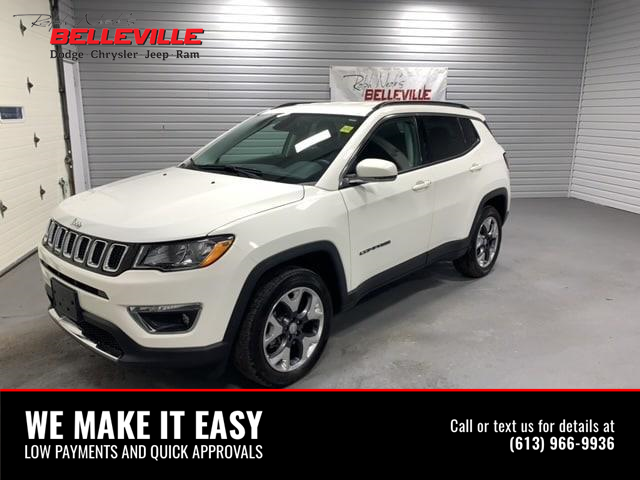 2019 Jeep Compass Limited (Stk: 2200P) in Belleville - Image 1 of 14