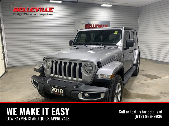 2018 Jeep Wrangler Unlimited Sahara (Stk: 0244A) in Belleville - Image 1 of 12