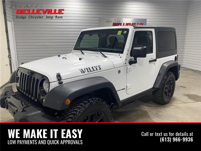 2018 Jeep Wrangler JK Sport (Stk: 2212P) in Belleville - Image 1 of 10