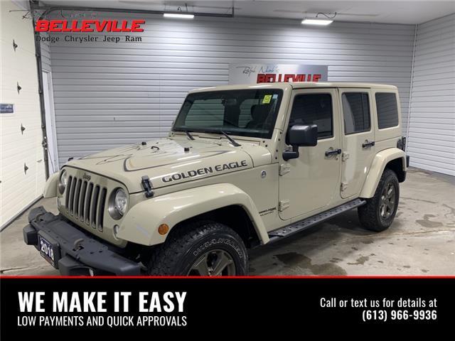 2018 Jeep Wrangler JK Unlimited Sport (Stk: 0214A) in Belleville - Image 1 of 12