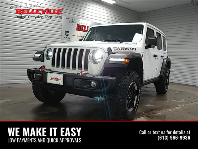 2020 Jeep Wrangler Unlimited Rubicon (Stk: 0041) in Belleville - Image 1 of 9