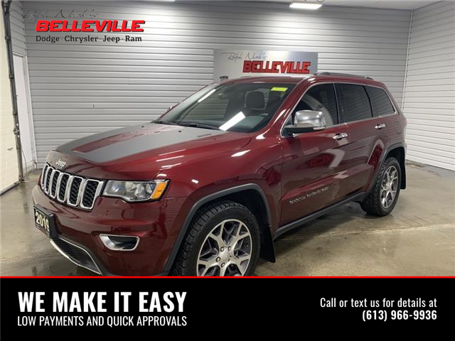 2019 Jeep Grand Cherokee Limited (Stk: 0013A) in Belleville - Image 1 of 14