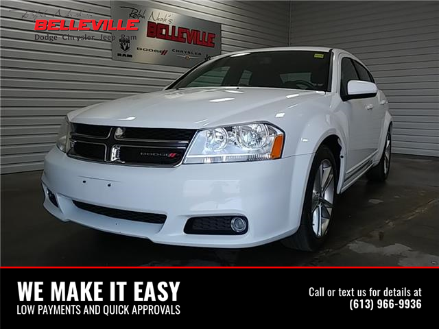 2014 Dodge Avenger SXT (Stk: 0061A) in Belleville - Image 1 of 11