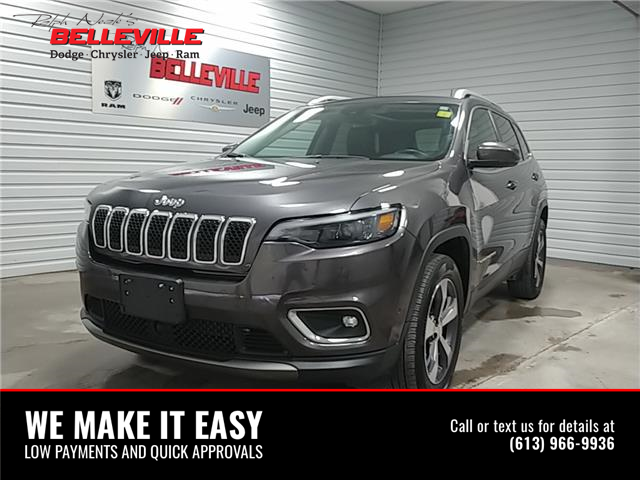 2019 Jeep Cherokee Limited (Stk: 0315A) in Belleville - Image 1 of 12