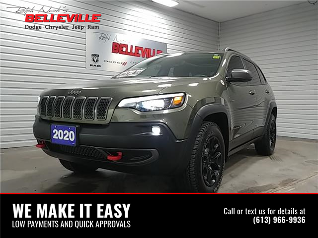 2020 Jeep Cherokee Trailhawk (Stk: 0017p) in Belleville - Image 1 of 12