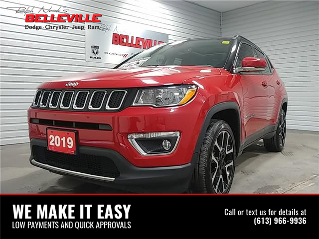 2019 Jeep Compass Limited (Stk: R1227) in Belleville - Image 1 of 12
