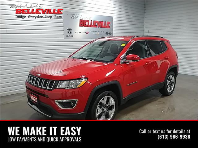 2020 Jeep Compass Limited 3C4NJDCB6LT105849 2250p in Belleville
