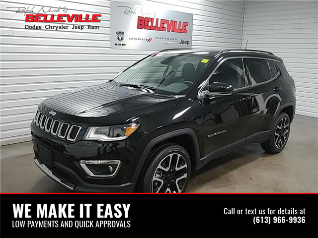 2020 Jeep Compass Limited (Stk: 2255P) in Belleville - Image 1 of 11