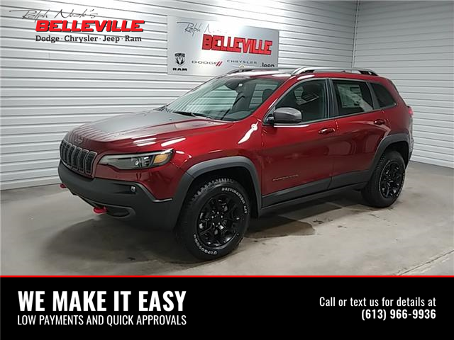 2021 Jeep Cherokee Trailhawk (Stk: 1040) in Belleville - Image 1 of 10