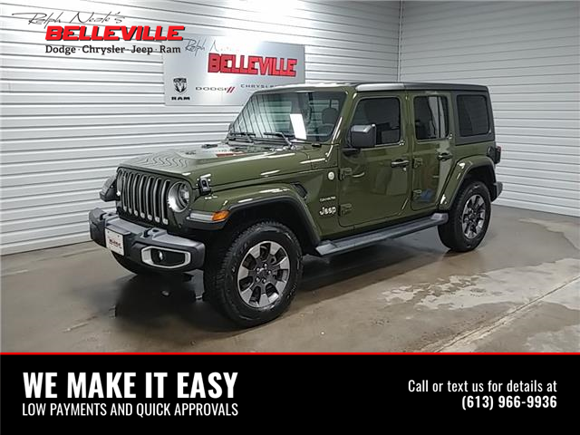 2021 Jeep Wrangler Unlimited Sahara (Stk: 1006D) in Belleville - Image 1 of 11