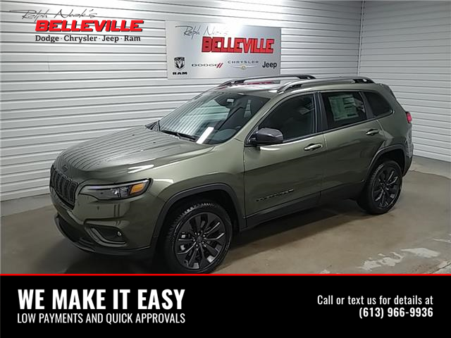 2021 Jeep Cherokee North (Stk: 1096) in Belleville - Image 1 of 11