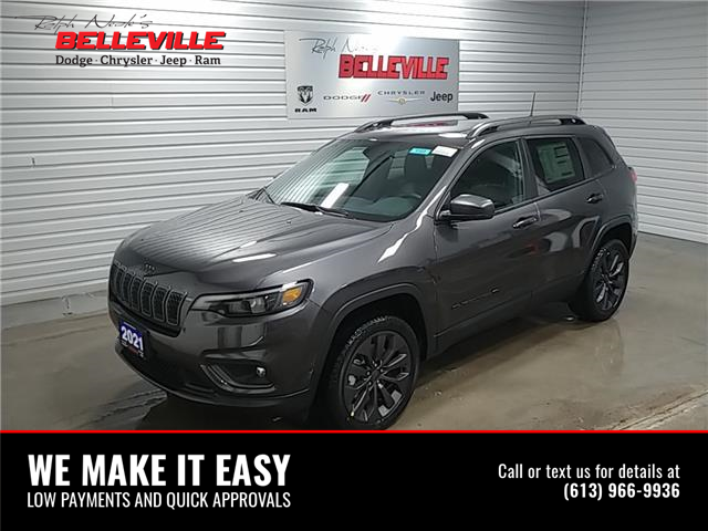 2021 Jeep Cherokee North (Stk: 1101) in Belleville - Image 1 of 11