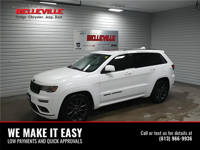 2018 Jeep Grand Cherokee Overland (Stk: 2277p) in Belleville - Image 1 of 12