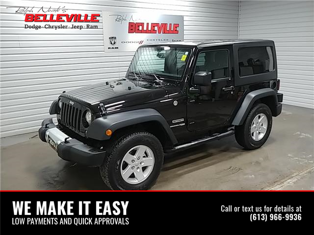 2018 Jeep Wrangler JK Sport (Stk: 2280P) in Belleville - Image 1 of 10