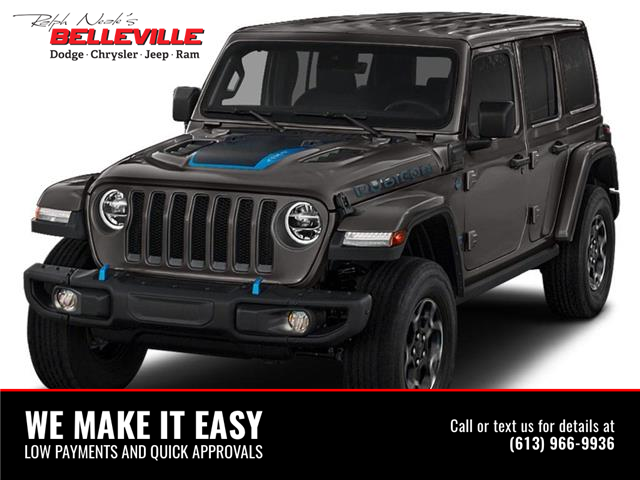 2021 Jeep Wrangler Unlimited 4xe Sahara (Stk: 1170) in Belleville - Image 1 of 2