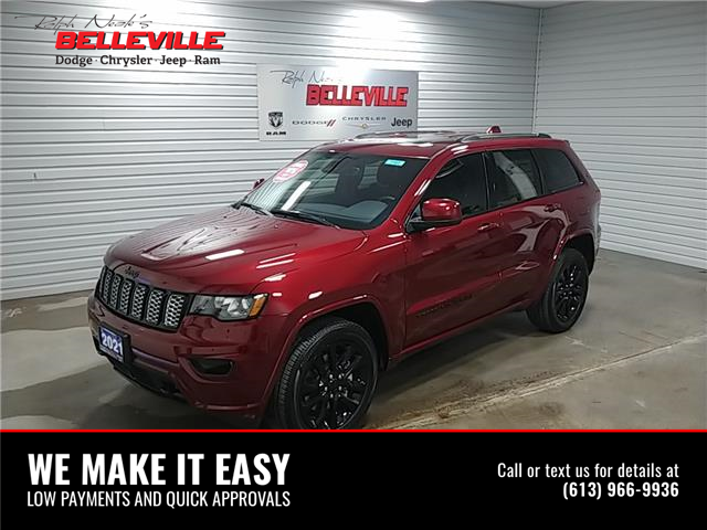2021 Jeep Grand Cherokee Laredo (Stk: 1161) in Belleville - Image 1 of 11
