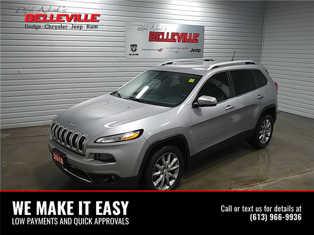 2018 Jeep Cherokee Limited (Stk: 1118A) in Belleville - Image 1 of 10