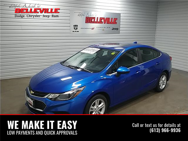 2018 Chevrolet Cruze LT Auto (Stk: 1111B) in Belleville - Image 1 of 10