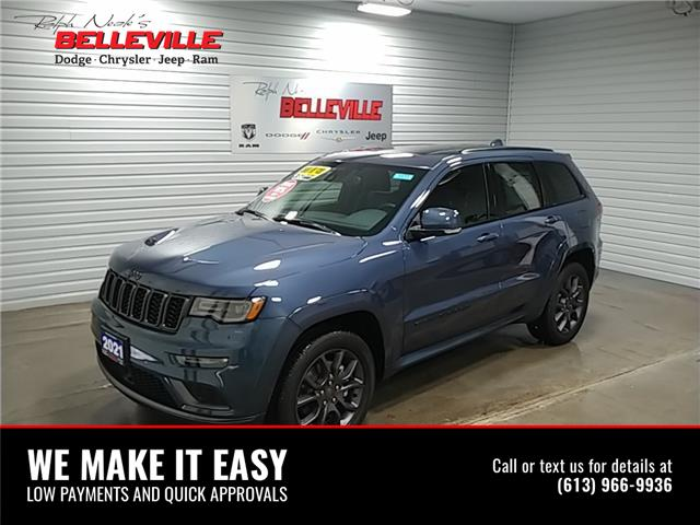 2021 Jeep Grand Cherokee Overland (Stk: 1177) in Belleville - Image 1 of 11