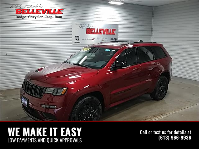 2021 Jeep Grand Cherokee Limited (Stk: 1189) in Belleville - Image 1 of 12
