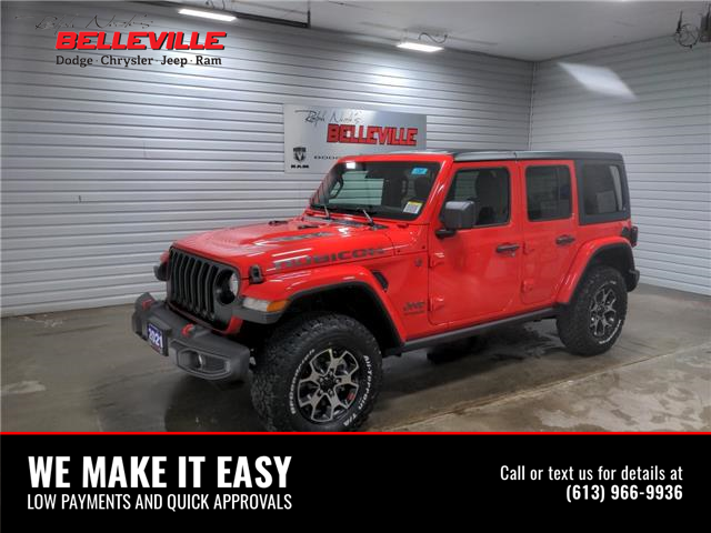2021 Jeep Wrangler Unlimited Rubicon (Stk: 1241) in Belleville - Image 1 of 10