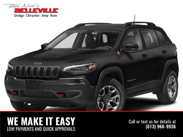 2021 Jeep Cherokee Trailhawk (Stk: 1280) in Belleville - Image 1 of 9