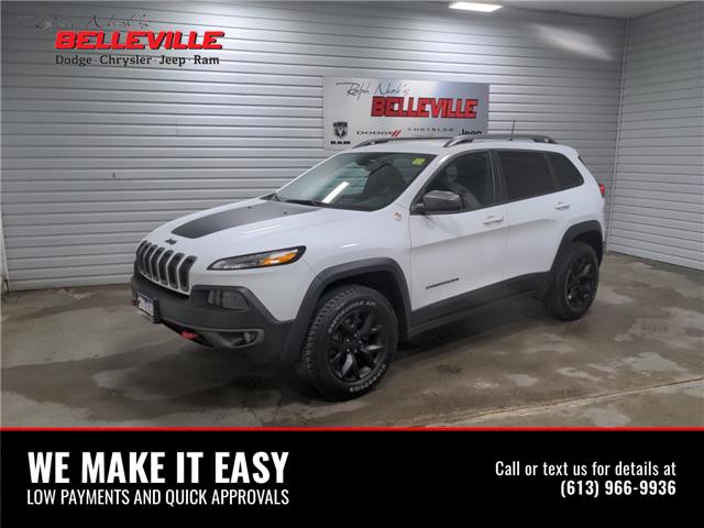 2018 Jeep Cherokee Trailhawk (Stk: 1267A) in Belleville - Image 1 of 11