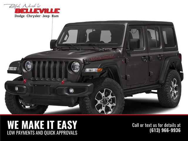 2021 Jeep Wrangler Unlimited Rubicon (Stk: 1384) in Belleville - Image 1 of 9